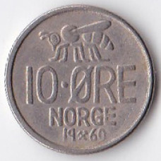 10 эре 1969 Норвегия - 10 ore 1969 Norway
