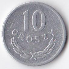 10 грошей 1967 Польша - 10 groszy 1967 Poland