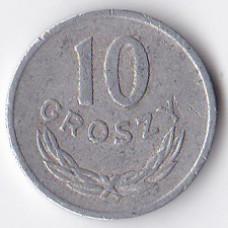 10 грошей 1972 Польша - 10 groszy 1972 Poland