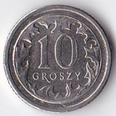 10 грошей 2012 Польша - 10 groszy 2012 Poland