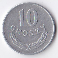 10 грошей 1949 Польша - 10 groszy 1949 Poland