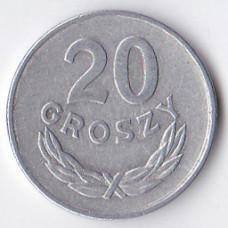 20 грошей 1949 Польша - 20 groszy 1949 Poland