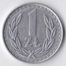 1 злотый 1987 Польша - 1 zloty 1987 Poland