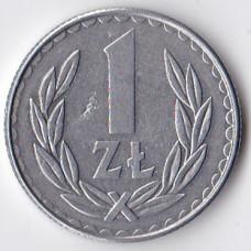 1 злотый 1988 Польша - 1 zloty 1988 Poland