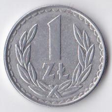 1 злотый 1982 Польша - 1 zloty 1982 Poland