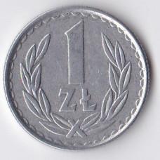 1 злотый 1985 Польша - 1 zloty 1985 Poland