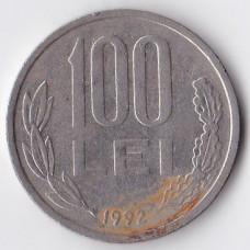 100 лей 1992 Румыния - 100 lei 1992 Romania