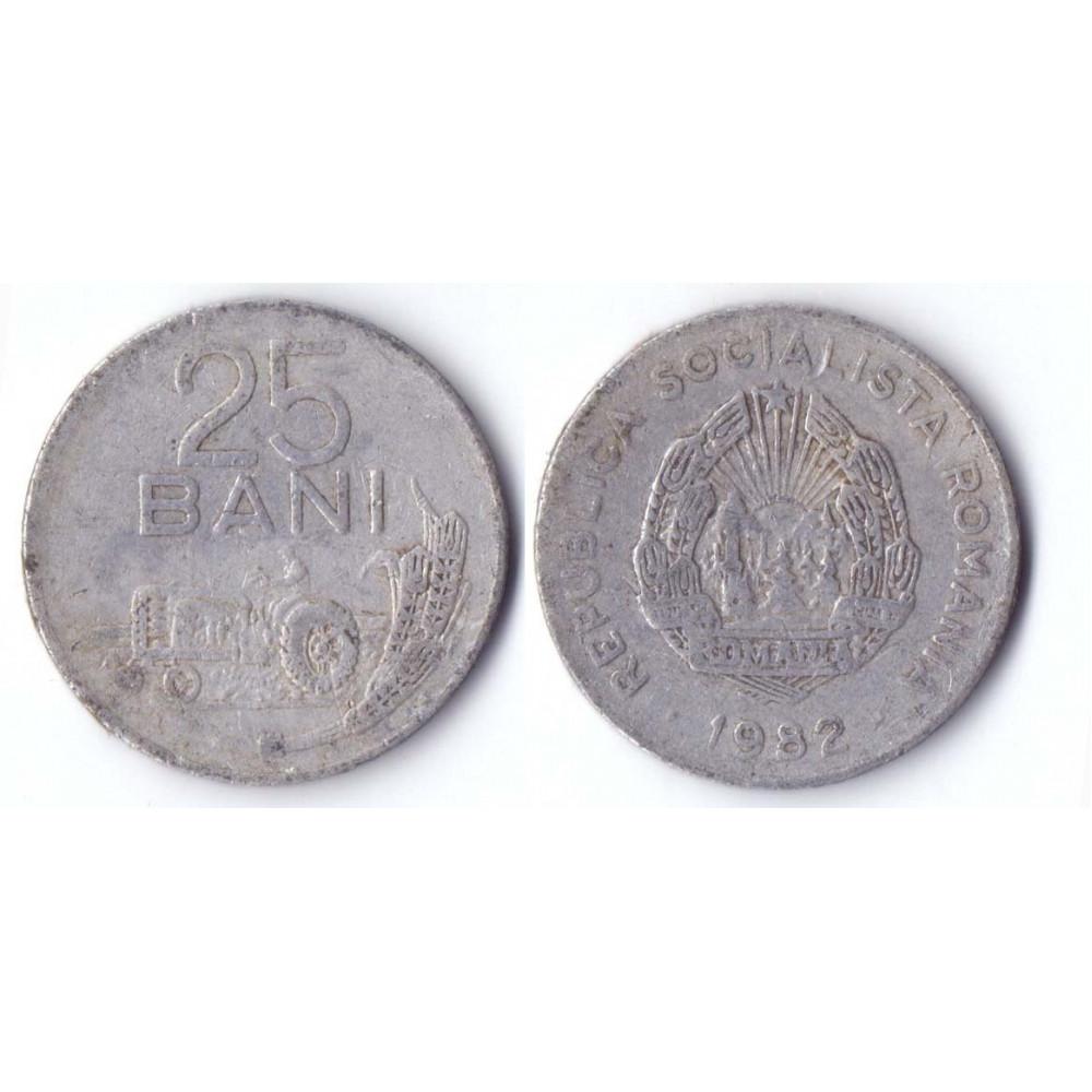 25 BANI REPUBLICA SOCIALISTA ROMANIA 1982