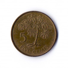 5 центов 1982 Сейшельские острова - 5 cents 1982 Seychelles