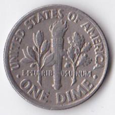 1 дайм (10 центов) 1982 США - 1 dime (10 cents) 1982 USA, P