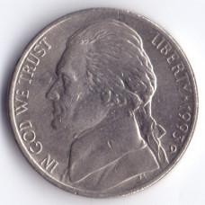 5 центов 1993 США - 5 cents 1993 USA, D