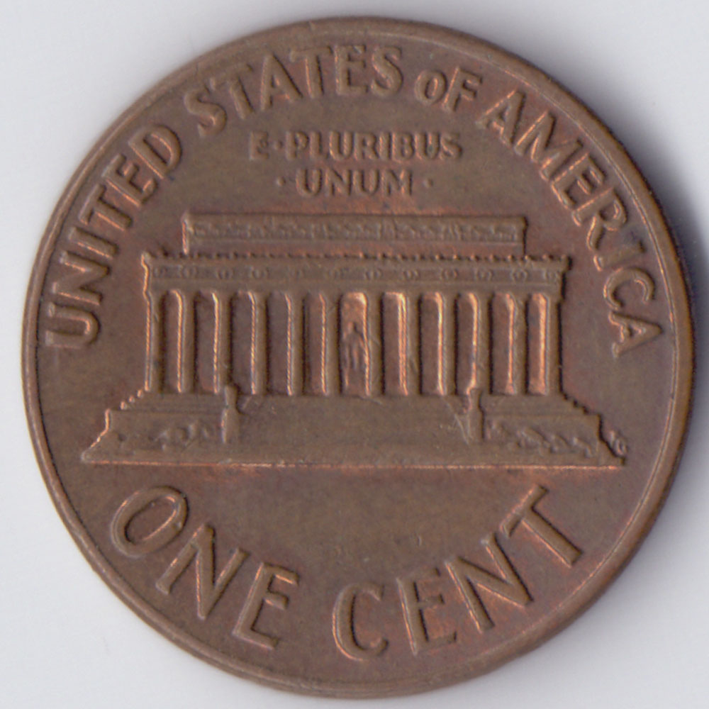 one cent Lincoln 1971