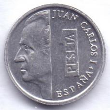 1 песета 1994 Испания - 1 peseta 1994 Spain, из оборота