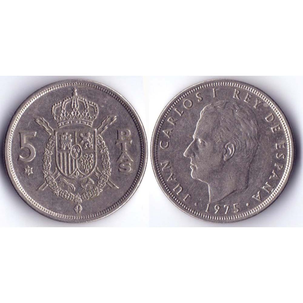 5 ptas 1982 Spain - 5 песет 1982 Испания