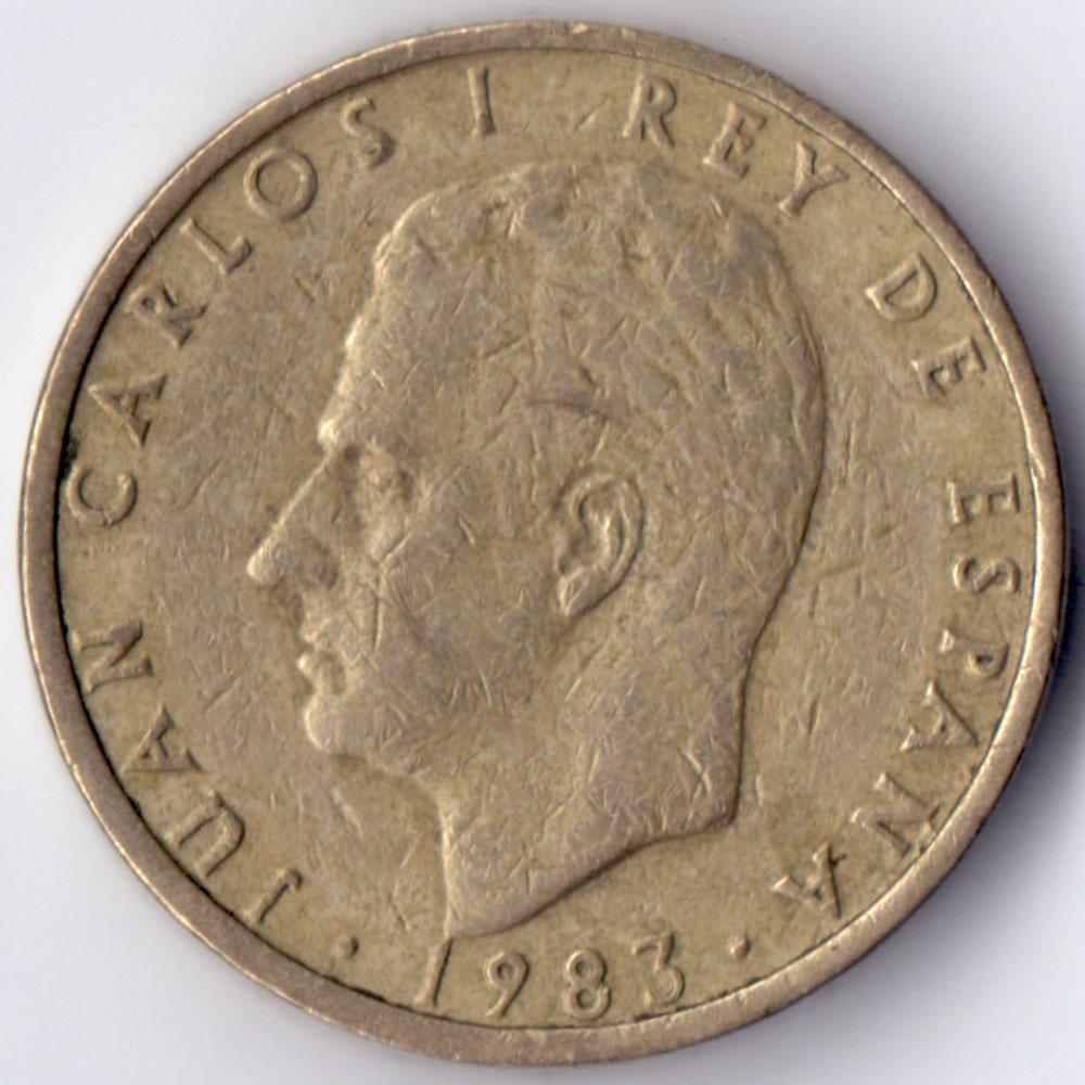 100 pesetas1983