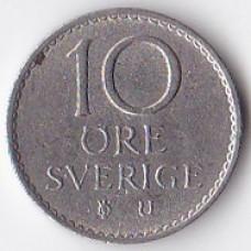 10 эре 1966 Швеция - 10 ore 1966 Sweden
