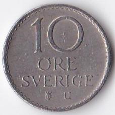 10 эре 1973 Швеция - 10 ore 1973 Sweden