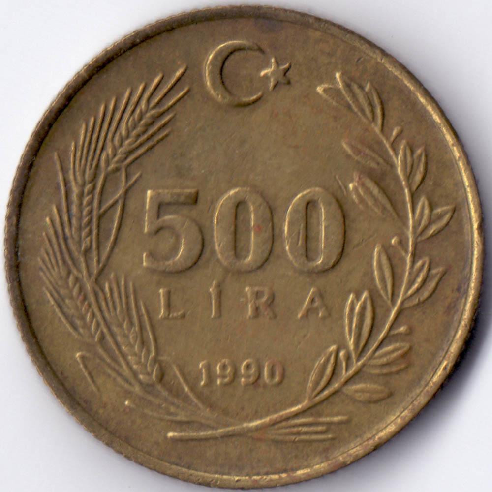 500 lira 1990