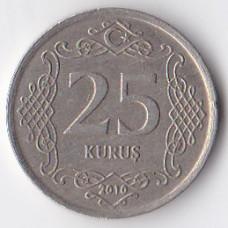 25 куруш 2010 Турция - 25 kurus 2010 Turkey