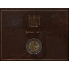 """2 евро Ватикан 2011 год """"День молодёжи"""""""