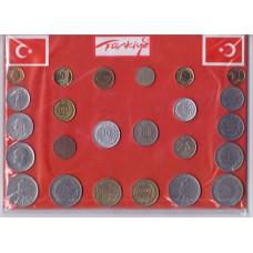 Набор монет Турции №1