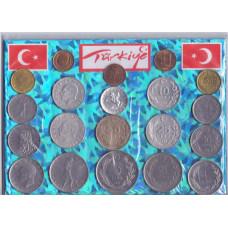 Набор монет Турции №3