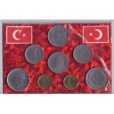 Набор монет Турции №4