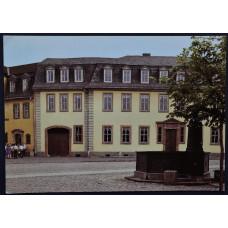 Открытка - Веймар. Дом Гете на фрауенплане. Германия