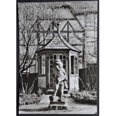 Открытка - Das Bachhaus in Eisenach. Дом Баха в Айзенахе. Германия