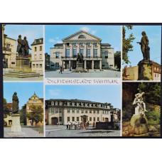 Открытка - Weimar. Веймар. Германия