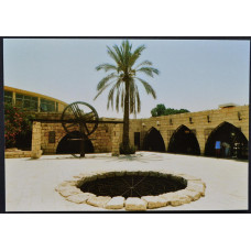 Открытка - Abraham's Well, Колодец Авраама, Израиль