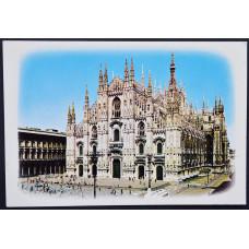 Открытка - Duomo Di Milano, Миланский собор, Италия