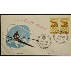Конверт - Италия, 1960. XVII Олимпийские игры - Рим, Италия. Гребля