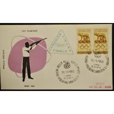 Конверт - Италия, 1960. XVII Олимпийские игры - Рим, Италия. Стрельба