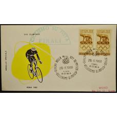 Конверт - Италия, 1960. XVII Олимпийские игры - Рим, Италия. Велоспорт