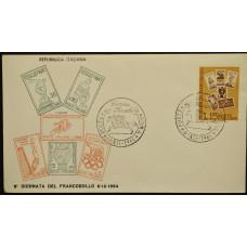 Конверт первого дня (КПД) - Италия, 1964. День печати