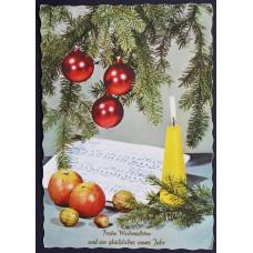 Открытка Frohe Weihnachten und ein glückliches neues jahr, Австрия. Счастливого Рождества и счастливого Нового года