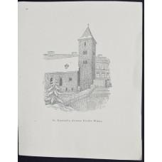 Открытка st. Ruprecht, alteste kirche Wiens, Австрия. Рупрехтскирхе, церковь в Вене