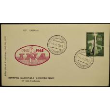 Конверт первого дня (КПД) - Италия, 1963. 50 лет Институту национального страхования