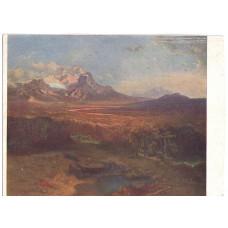 Открытка Ротман Карл (1789-1850). Горный пейзаж. Немецкая школа XIX века. Чистая