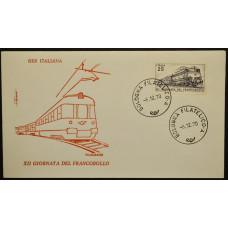 Конверт первого дня (КПД) - Италия, 1970. День печати