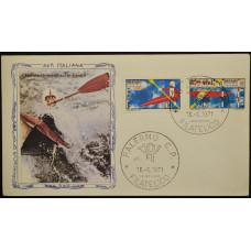 Конверт - Италия, 1971. Чемпионат мира по каное-слалому, Мерано