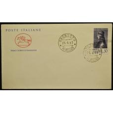 Конверт первого дня (КПД) - Италия, 1963. 500-летие со дня рождения Джованни Пико делла Мирандола