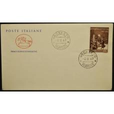 Конверт первого дня (КПД) - Италия, 1967. 800-летие присяги Понтиды