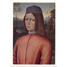 Открытка Бернардино Пинтуриккио (ок. 1455-1513). Портрет мальчика. Итальянская школа. Чистая