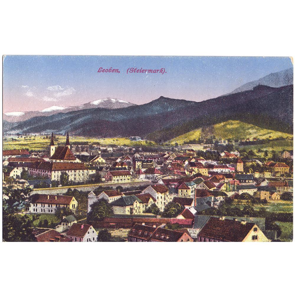 Открытка Leoben. Steiermark - Леобен. Штирия. Чистая