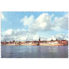 Открытка Bore-Laivat Skeppsbron'lla. Чистая