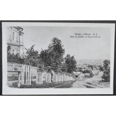 Открытка - Пенза - Pensa №5. Вид на вокзал с Дворянской улицы