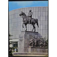 Открытка - Москва. Памятник М.И. Кутузову