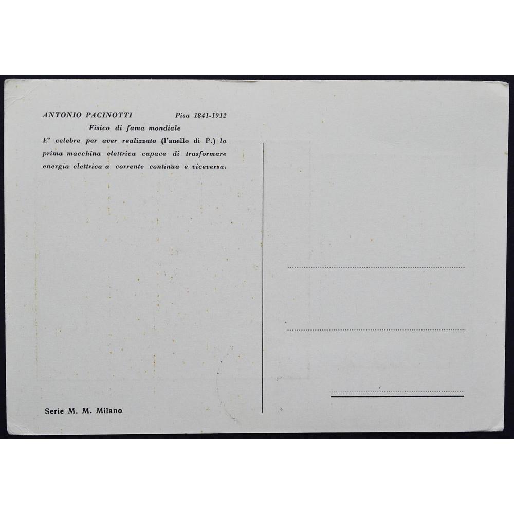 Картмаксимум СГ,  Antonio Pacinotti, Italy. Антонио Пачинотти, Италия